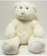 """BUILD A BEAR WHITE BLUE BABY CUDDLES TEDDY 15"""" RETIRED STUFFED PLUSH DOL... - $7.99"""