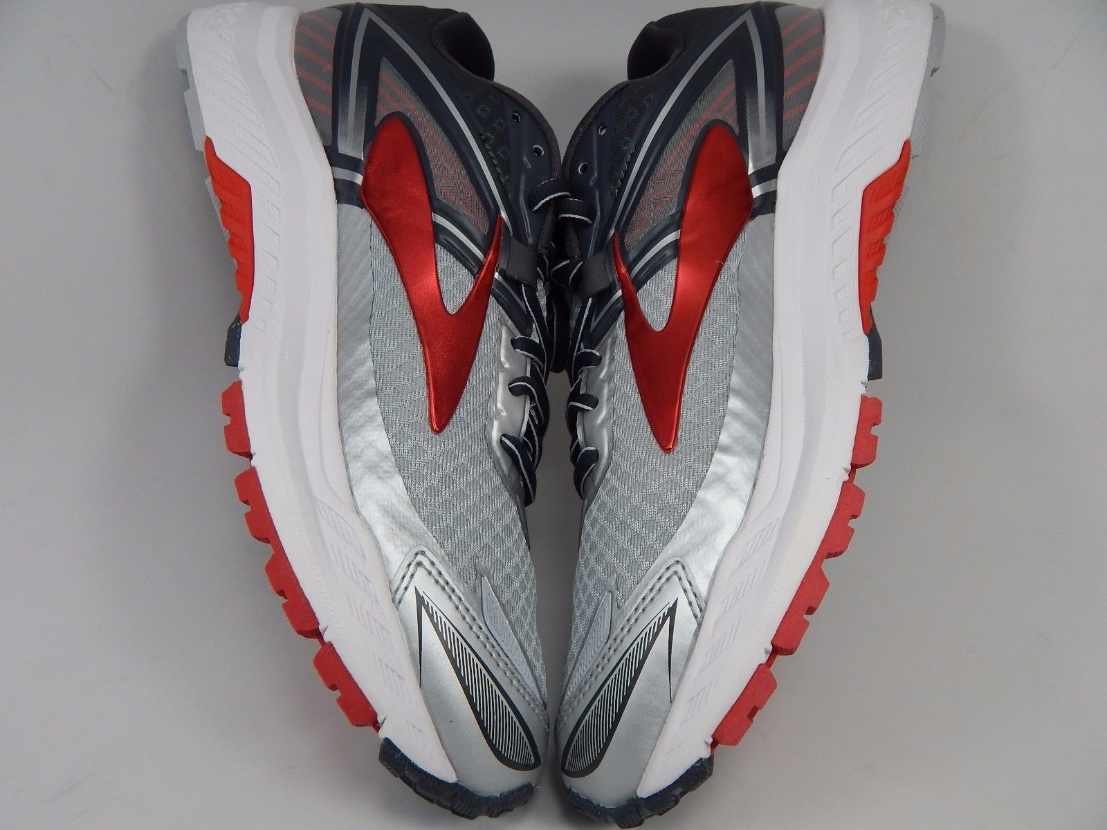 Brooks Ravenna 8 Men's Running Shoes Size US 8.5 M (D) EU 4 Silver 1102481D067