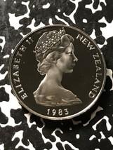 1983 New Zealand 20 Cents Lot#X3407 Proof! - $6.80