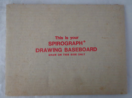 Kenner's Super Spirograph  Drawing BaseBoard - $8.82