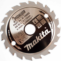 NEW Makita B-16885  HM 85mm x 15mm x 1.0mm  20T HS300D Cutting Saw Blade - $14.39