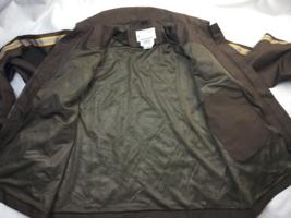 UPS Long Sleeve Full Zip Brown Rain Jacket Adult Men's Size L  (42-44) large  image 6