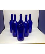 WEDDING CENTERPIECES  12 - Cobalt Blue Bottles 1.5 Liter  For  Moonshine, Beer , - $48.50
