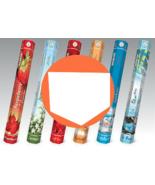 Incense Sticks Flute Choose 6 Scents Hexa Box 120 Agarbatti Fragrance St... - $24.99