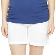 Maternity Oh Baby by Motherhood Secret Fit Belly Cuffed Shorts SM, M, LG... - $36.00