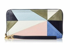 New Fossil Women's Logan RFID Zip Around Clutch - $69.29+