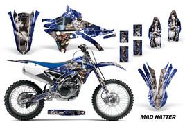Dirt Bike Decal Graphic Kit MX Wrap For Yamaha YZ250F YZ450F 2014-2018 MAD S U - $169.95