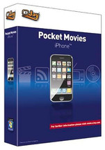 eJay Pocket Movies for iPhone. PC Software. Convert your Movie and Video... - $19.99