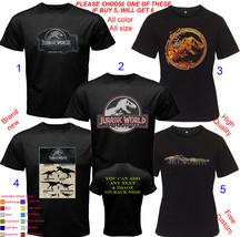 Jurassic World  Fallen Kingdom Mix Shirt All Size Adult S-5XL Youth Toddler - $20.00+