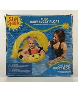 """NIP My Sun Shine Baby Buggy Float Swimming Pool Water Sports 25"""" Ages 1-2 - $21.49"""