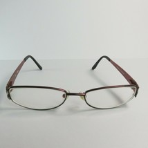 Guess GU1563 Women's Eyeglass Frames 51-16mm Bronze Black silver metal f... - $25.50