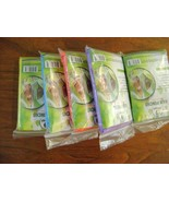 Lot of  5   4Happi Rain Poncho with Drawstring Hoods, Various Colors - $7.50