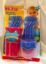NUBY MEALTIME TRAVEL SET - $8.50