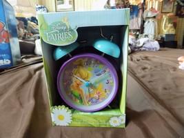 Disney Fairies Tinkerbell Twin Bell Alarm Clock - $9.99