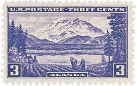 1937 Alaska Territory US Postage Stamp Catalog Number 800 MNH