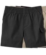 Toddler Jumping Beans Boys ONE Black Cargo Pull-On Shorts Elastic Waist ... - $4.99