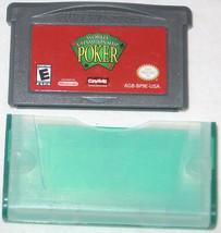 Campeonato Mundial Póker Nintendo Game Boy Advance, 2005 U. S. A - $6.96