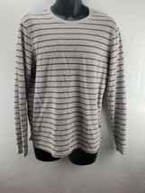 Levis Shirt Men's Size L Thermal Long Sleeve Striped - $9.45
