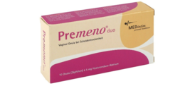 3 Boxes Premeno Duo Vaginal Ovules with Applicator (3 pack) - $80.00