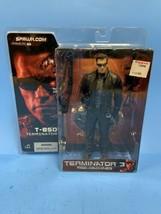 + McFarlane Toys Terminator 3 Rise Of The Machines T-850 Figure NIP - $40.00