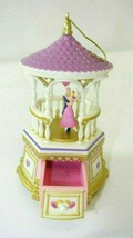 QX8121 Hallmark Jewelry Box Treasures and Dreams Music/Movement Ornament - $9.89