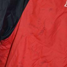 True Religion Red & Navy Blue Lined Reversible Windbreaker Hooded Jacket Size S image 4