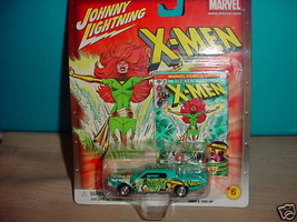 JL MARVEL X-MEN CUSTOM CONTINENTAL #6 CHASE CAR WITH RUBBER TIRES FREE U... - $12.19