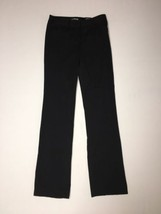 Express Editor Pants Size 00 Reg Inseam 33 Barely Boot Black Womens NWT - $58.05