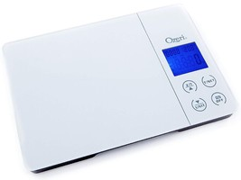 Gourmet Digital Kitchen Scale in Tempered Glass - with Timer Alarm and T... - €53,15 EUR