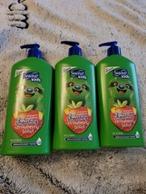 4 Suave Kids Shampoo + Conditioner Strawberry Blast 2 in 1 Smoothing 4 18oz pack - $9.90