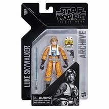 "【SALE】Hasbro Star Wars The Black Series 6"" Archive Luke Skywalker Action... - $28.04"