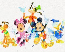 Mouse & Friends, Watercolor - $2.00+