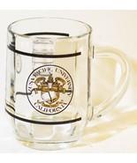 AZUSA Pacific University California Clear Glass COFFEE MUG LOGO Tea Cup ... - $14.95