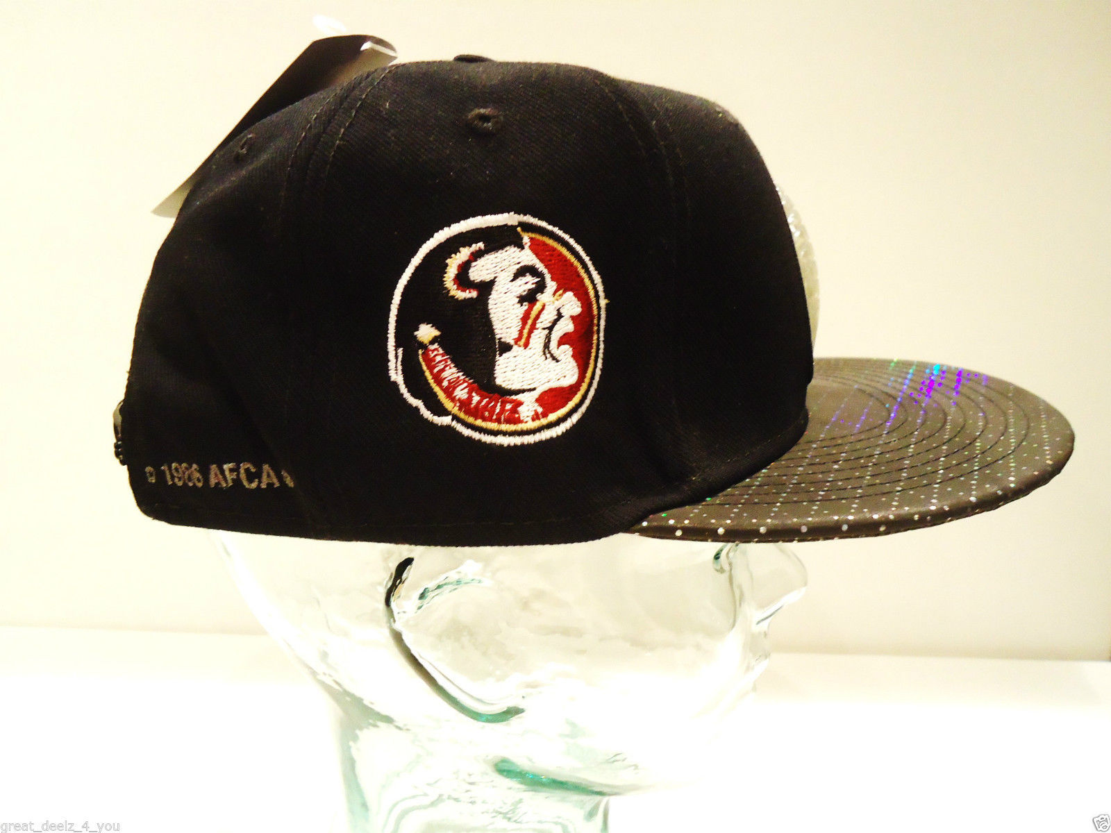 NIKE - FLORIDA STATE - SEMINOLES - NCAA - BCS - FOOTBALL - CHAMPIONS - CAP - HAT