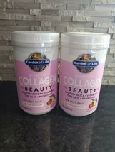 X2 Garden Of Life Grass Feed Collagen Beauty Strawberry Lemonade Flavor - $38.40