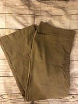 Ann Taylor Factory Size 18 Signature Pants Fit & Flare Stretch Trousers - $14.85