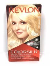 Revlon ColorSilk Permanent Hair Color - SUN LIGHT BLONDE #95 - 100% Gray Cover - $12.30