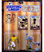 Reggie Jackson & Don Drysdale 1989 Starting Line Up SLU Double Figures-New! - $34.64