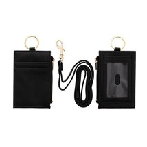 URBAN ENERGY MEN'S BLACK ID LANYARD - $8.00