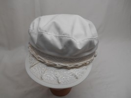 AUTHENTIC GREEK FISHERMAN'S CAP Cotton Made Greece Size 8 Dorfman Pacifi... - $29.69