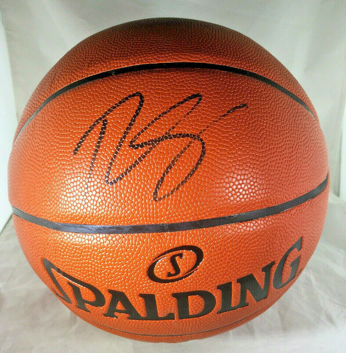 BEN SIMMONS / PHILADELPHIA 76ERS / AUTOGRAPHED FULL SIZE NBA BASKETBALL / COA