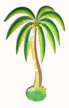 "WorldBazzar Beautiful 19"" Metal Palm Tree with Coconuts Tropical Island Wall Art - $27.66"