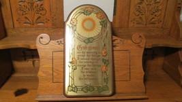 Serenity Prayer Framed Wall Art Plaque WOOD & METAL QUALITY HEAVY - $19.95