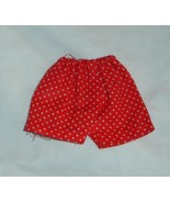 ken doll clothes In Training vintage briefs shorts red with white dots - $8.99