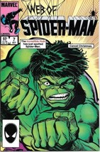 Web of Spider-Man Comic Book #7 Marvel Comics 1985 VERY FN/NEAR MINT NEW... - $3.99