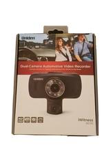 "NEW Uniden Dual Dash Camera Video Recorder 1080p 30fps 2.7"" Dash Cam DC115 - $37.61"