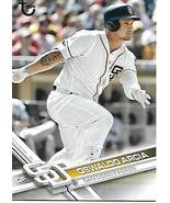 Baseball Card- Oswaldo Arcia 2017 Topps #184 - $1.00