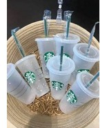 Starbucks Reusable Confetti Color Changing 24oz Cold Cup Summer 2020 Cle... - $25.00