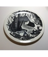 Wedgwood New England Industries Marble Quarrying Plate by Clare Leighton - $79.18