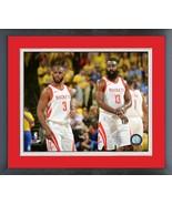 Chris Paul & James Harden Rockets 2018 NBA Western Conference Finals Photo - $42.95